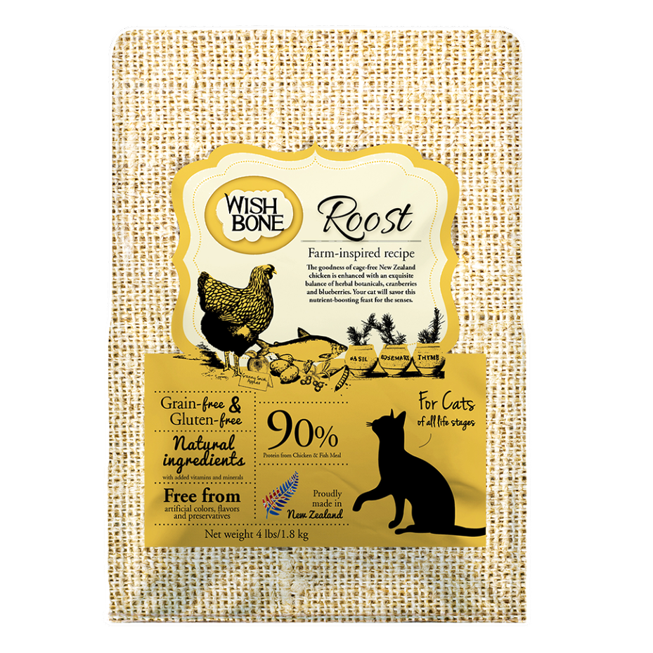 Wishbone Roost - Grain Free Cat Food
