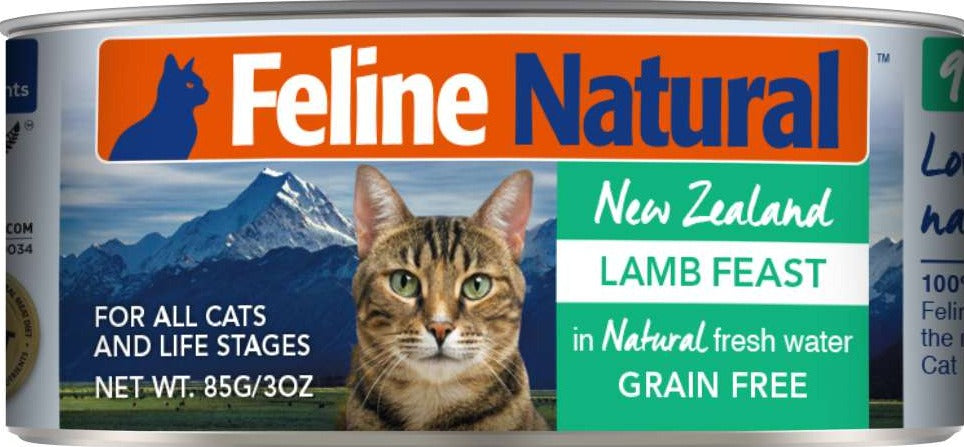 Feline Natural Canned Lamb Feast