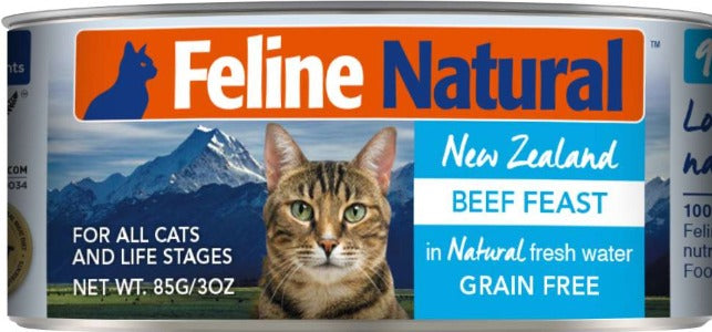 Feline Natural Canned Beef Feast