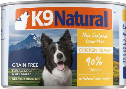 K9 Natural Canned Chicken Feast