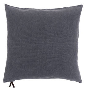 WASHED DENIM- FEATHER FILL PILLOW