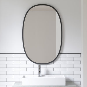 OVAL WALL MIRROR