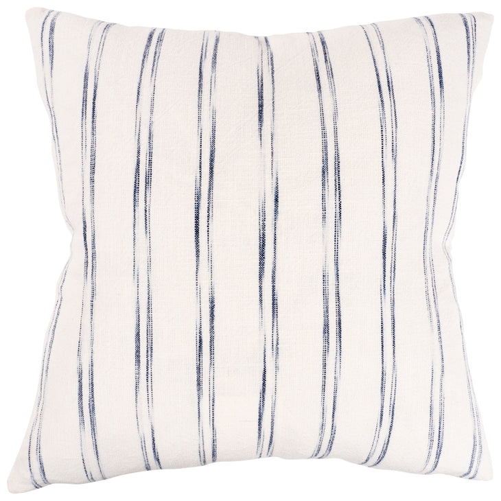 WATERBRUSH- NAVY - FEATHER FILL PILLOW