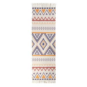 Geometric Rug with Tassle