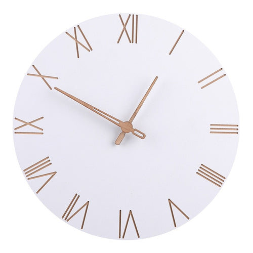 The Diana - White Wall Clock Collection