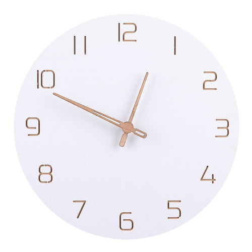 The Dani - White Wall Clock Collection