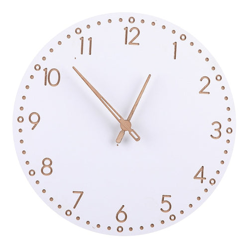 The Demi - White Wall Clock Collection