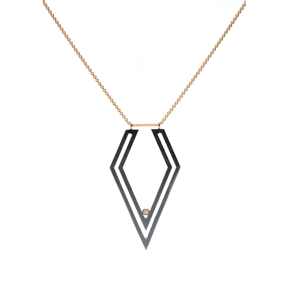 Diamond Strata Necklace