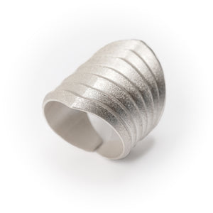 Rhomboid Ring Sterling Silver