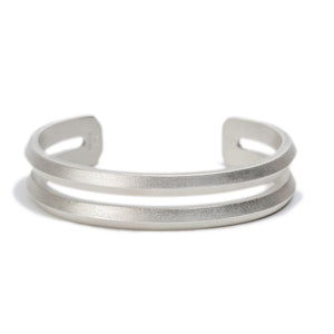 Mountain Range Double Ridgeline Cuff