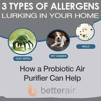 3 Types of Allergens Lurking in Your Home (and How a Probiotic Air Purifier Can Help)