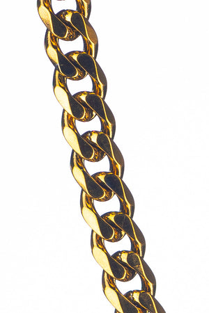 Gharb Co. Curb Necklace Chain – Gold-Krave Urban Store