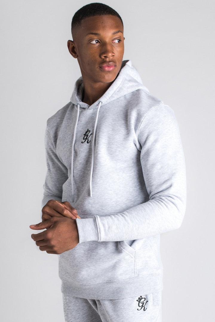 Gym King Basis Pullover Hoodie - Snow Marl-Krave Urban Store