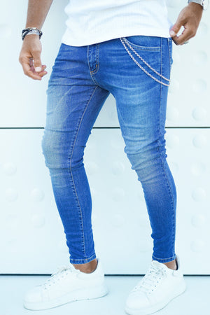 ICwear Jeans Basic - Blue