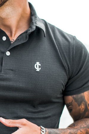 ICwear Polo Short Sleeve Fansi - Black