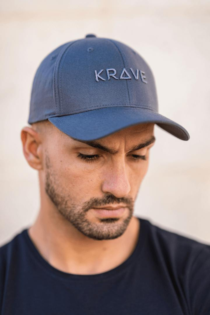 Krave Curved Cap – Dark Grey - Krave Urban Store