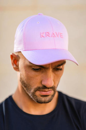 Krave Curved Cap – Light Pink - Krave Urban Store