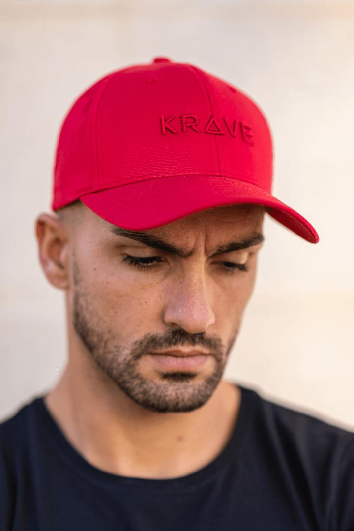Krave Curved Cap – Red - Krave Urban Store
