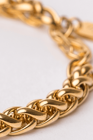 Gharb Co. Rope Bracelet – Gold - Krave Urban Store
