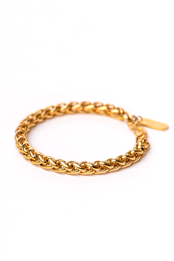 Gharb Co. Rope Bracelet – Gold