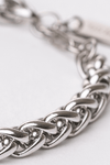 Gharb Co. Rope Bracelet – Silver - Krave Urban Store