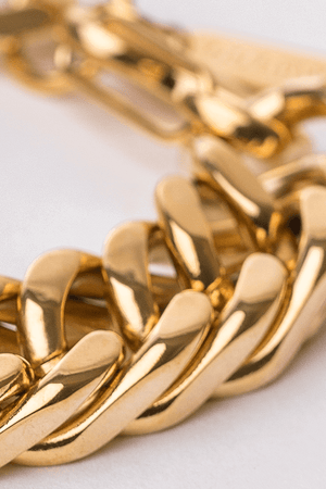 Gharb Co. Curb Bracelet – Gold - Krave Urban Store