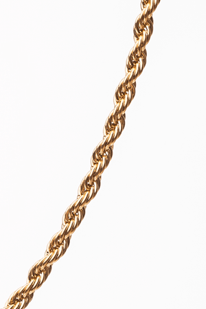 Gharb Co. Rope Necklace – Gold - Krave Urban Store