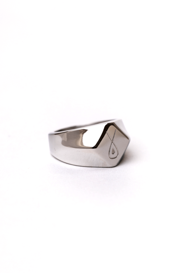 Gharb Co. Signature Ring – Silver - Krave Urban Store