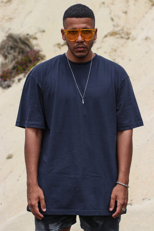 Krave Urban Selection Oversize Tee - Navy