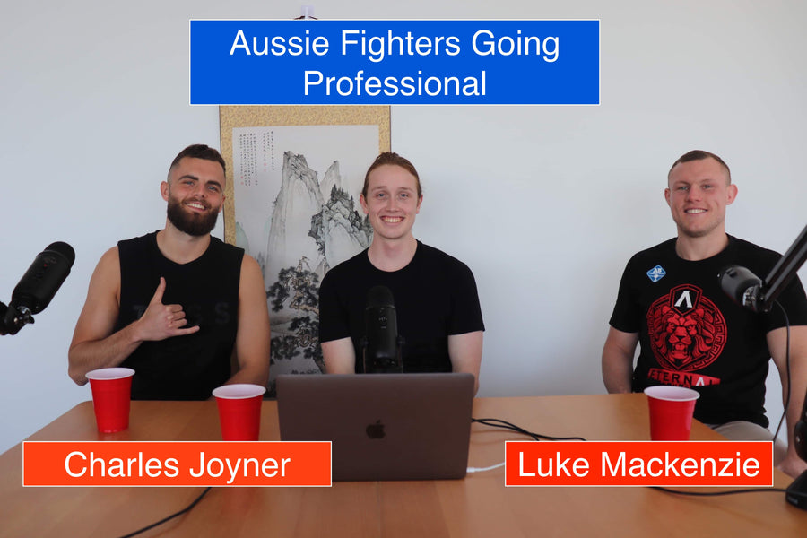 Pro Debuts and Staredown Tactics with Luke Mackenzie and Charles Joyner
