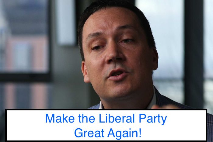 #2 How to Fix the Broken LIberal Party - John Ruddick