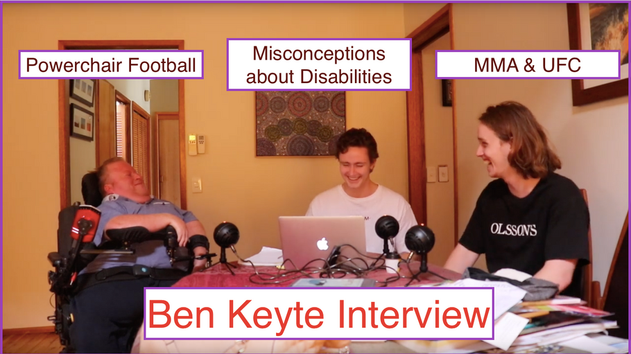 Misconceptions about disabilities, Powerchair Football & Joyner Fight - Ben Keyte Interview