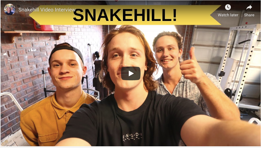 Young Star Snake Hill Talks Music, Producing & More !