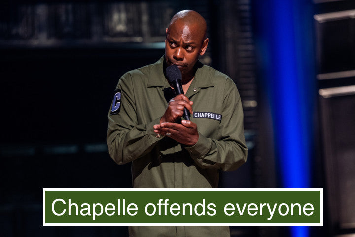 Chapelle shows us why we need more jokes, not less