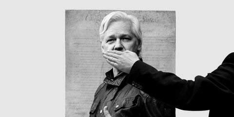 Julian Assange silenced for exposing war criminals. Locked up with no access to sunlight. His protects all of us.