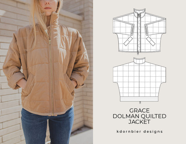 Grace Dolman Quilted Jacket