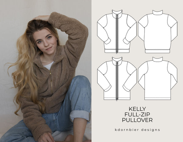 Kelly Full-Zip Pullover