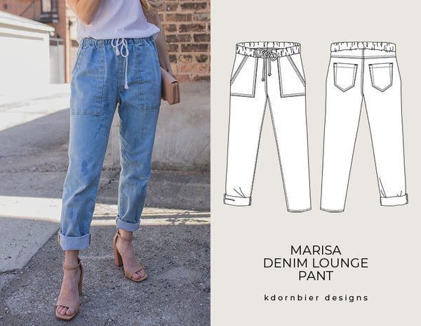 Marisa Denim Lounge Pant