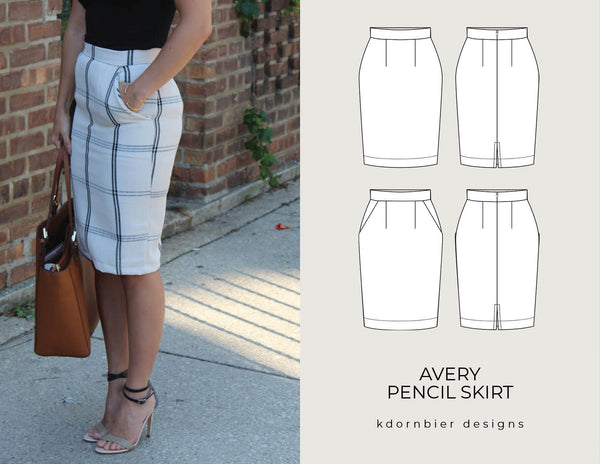 Avery Pencil Skirt