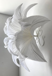 Tissue paper lily flower