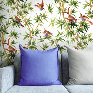 Painted-paper-birds-of-paradise-wallpaper-MyTailorsAndCo