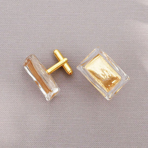 Murano glass cufflinks on MyTailorsAndCo