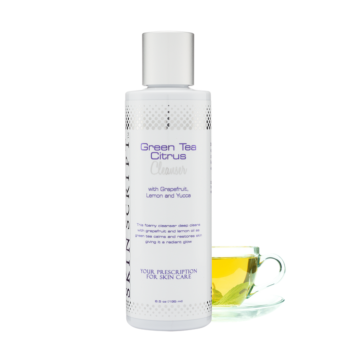 Skin Script Green Tea Citrus Cleanser