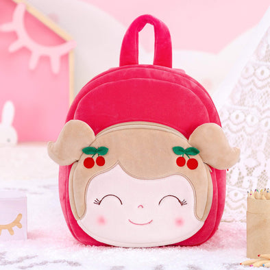 NEW - Personalized Leyadoll Backpack (Red-Cherry) - Leya Doll