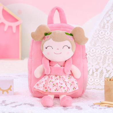 NEW - Personalized Leyadoll Doll Backpack (Pink Cherry) - Leya Doll