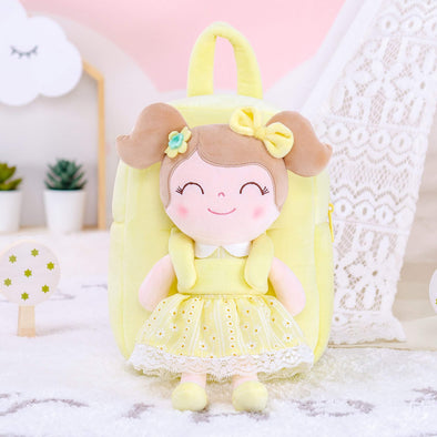 NEW - Personalized Leyadoll Doll Backpack (Yellow) - Leya Doll