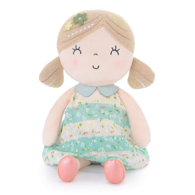 Personalized Leyadoll (Green) with Gift Bag - Leya Doll