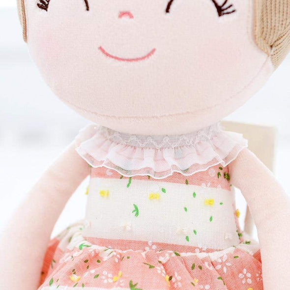 Personalized Leyadoll (Pink) with Gift Bag - Leya Doll