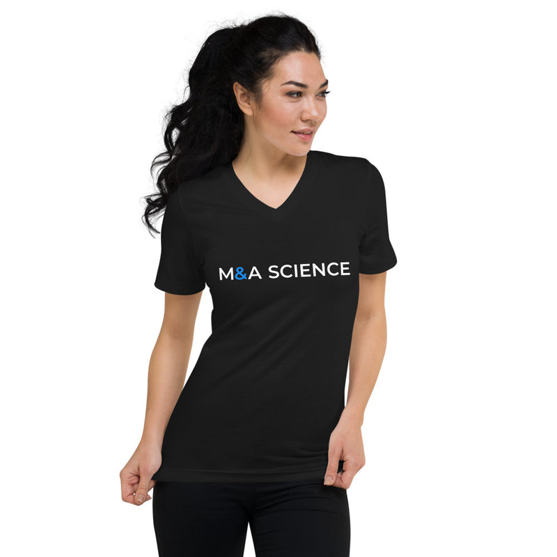 M&A Science V-Neck T-Shirt