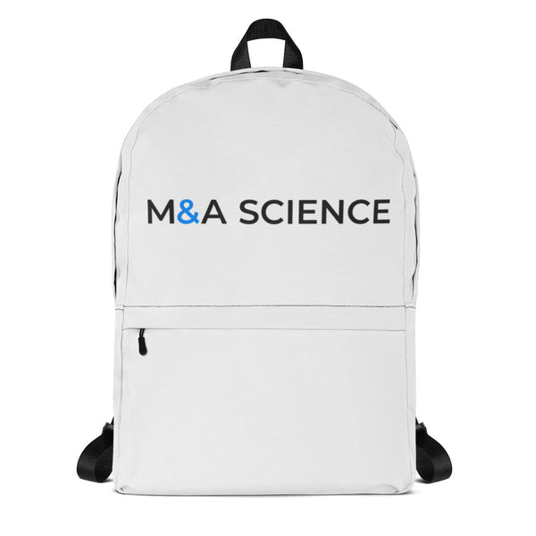 M&A SCIENCE Backpack (White)